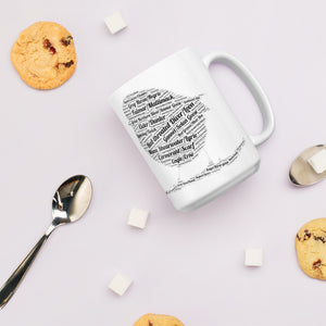 Orkney Islands Mug - Orkney, Scotland,  Dialect Bird Names. shop.orkneyology.com