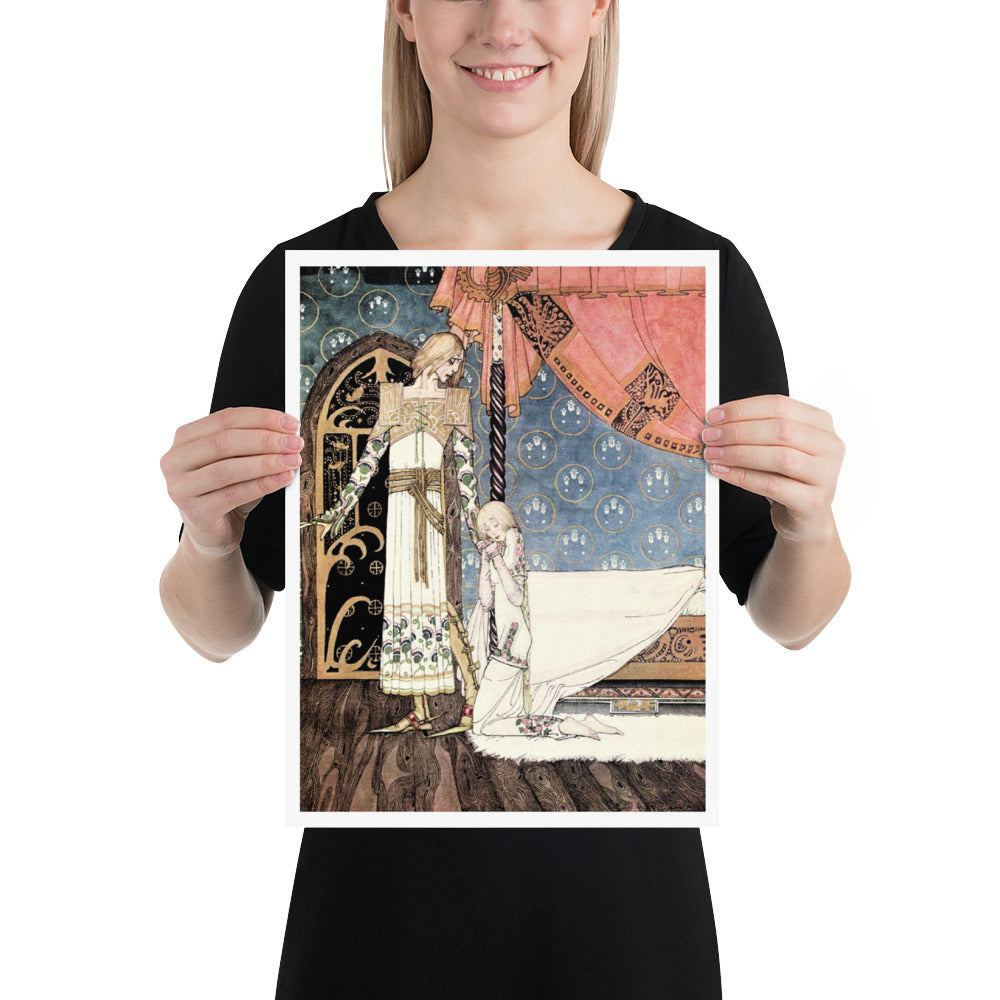 Fairytale & Folklore Poster - Kay Nielsen, East of the Sun West of the Moon, I'll Search You Out, 12X16