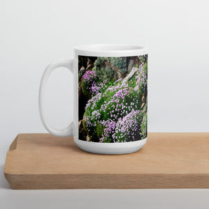 Island Time Mug - Contemplate, Sea Pinks