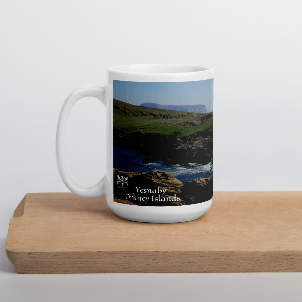 Orkney Islands Mug - The Cliffs of Yesnaby, orkney, Scotland. shop.orkneyology.com