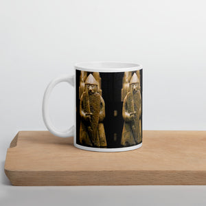 Viking Mug - Lewis Chessmen Shield-Biting Berserker