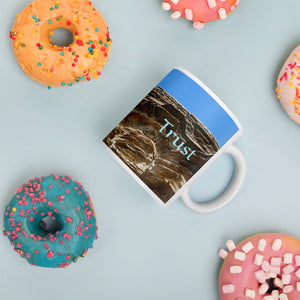 Island Time Mug - Trust, Yesnaby cliffs