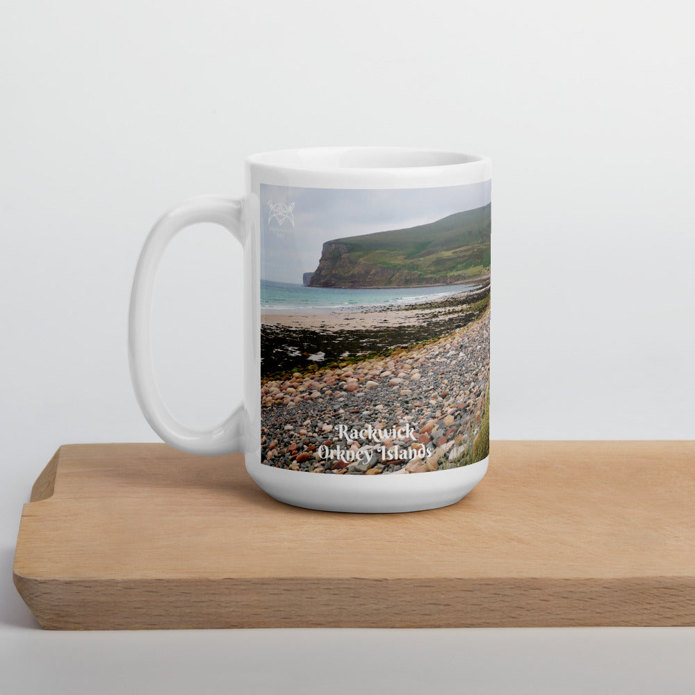 Rackwick Beach mug on Orkneyology.com