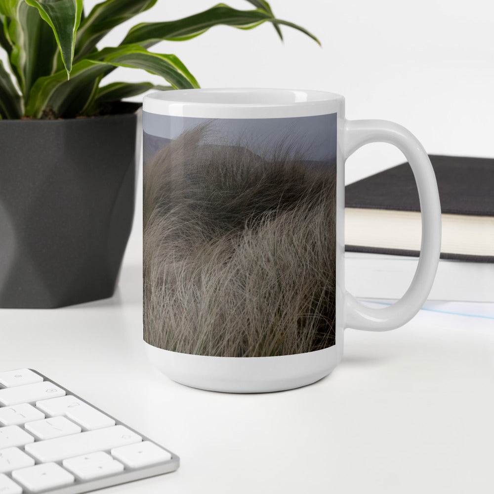 Orkney Islands Mug - Misty Morning on Rackwick Beach, shop.Orkneyology.com