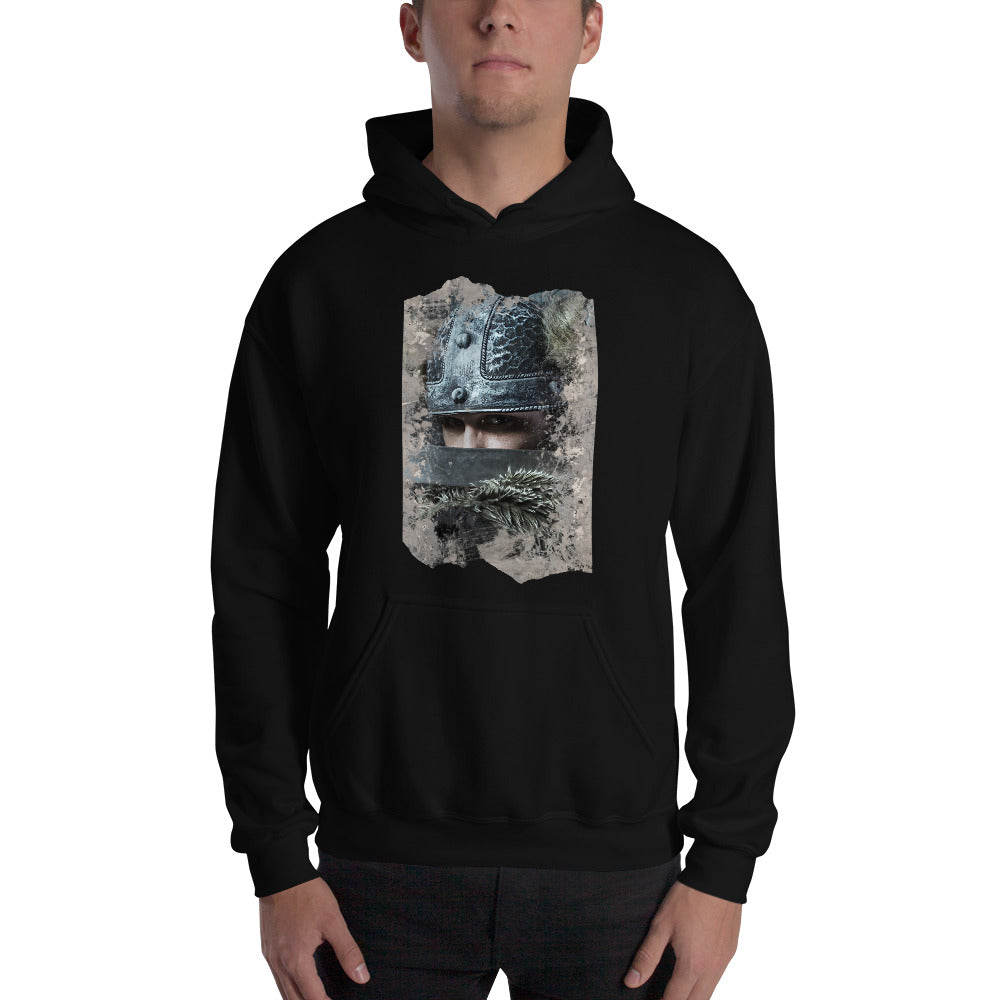 Viking Unisex Hoodie - Viking Warrior Masked