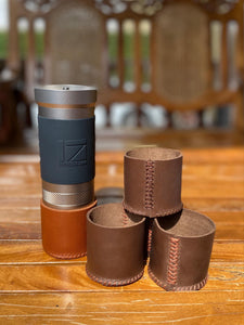 Leather Catch Cup Case - Jx Pro