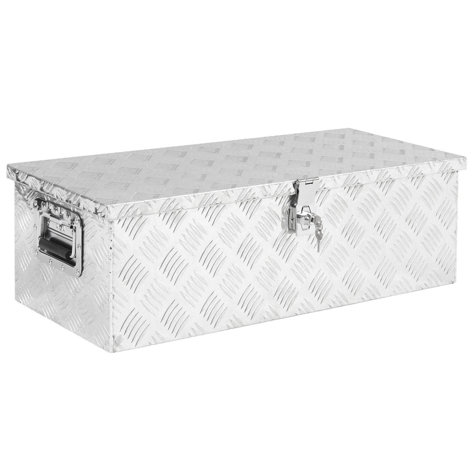 30in Aluminum Tool Box - Silver
