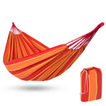 2-Person Brazilian-Style Cotton Double Hammock  w/ Carrying Bag