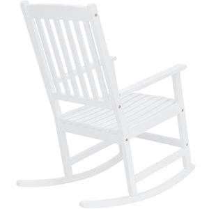 Traditional Wooden Rocking Chair