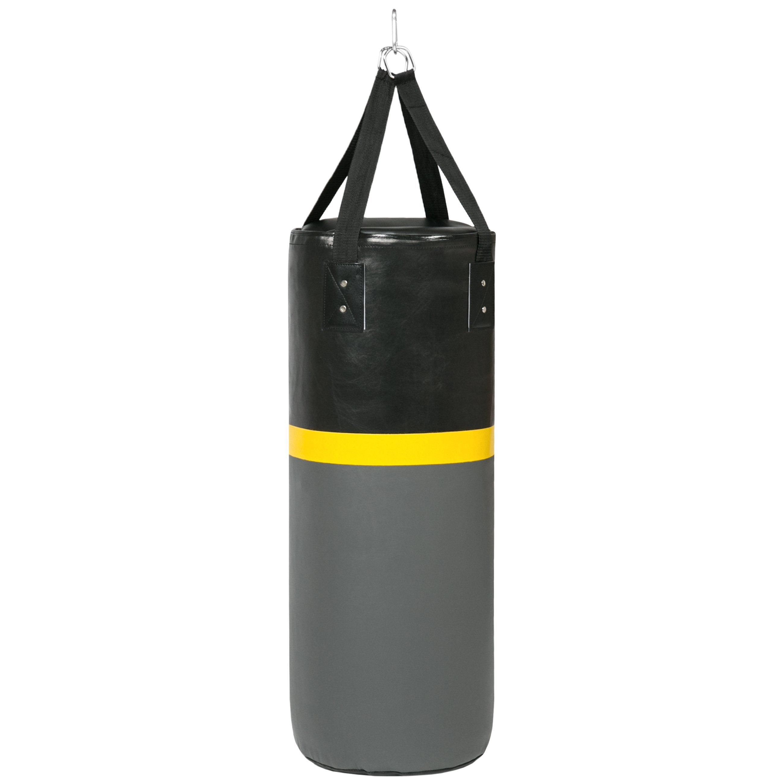 52lb Hanging Heavy Punching Bag w/ Wall-Mount Rack, Pull Up Bar