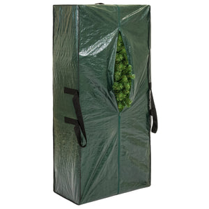 Weather-Resistant Christmas Tree Storage Bag for 9ft Tree w/ Handles - Green