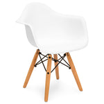 Kids Modern Mini Eames Style Multifunctional Round Table Set w/ 2 Chairs