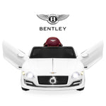 12V Kids Bentley Ride-On Car w/ Remote Control, 2 Speeds, AUX