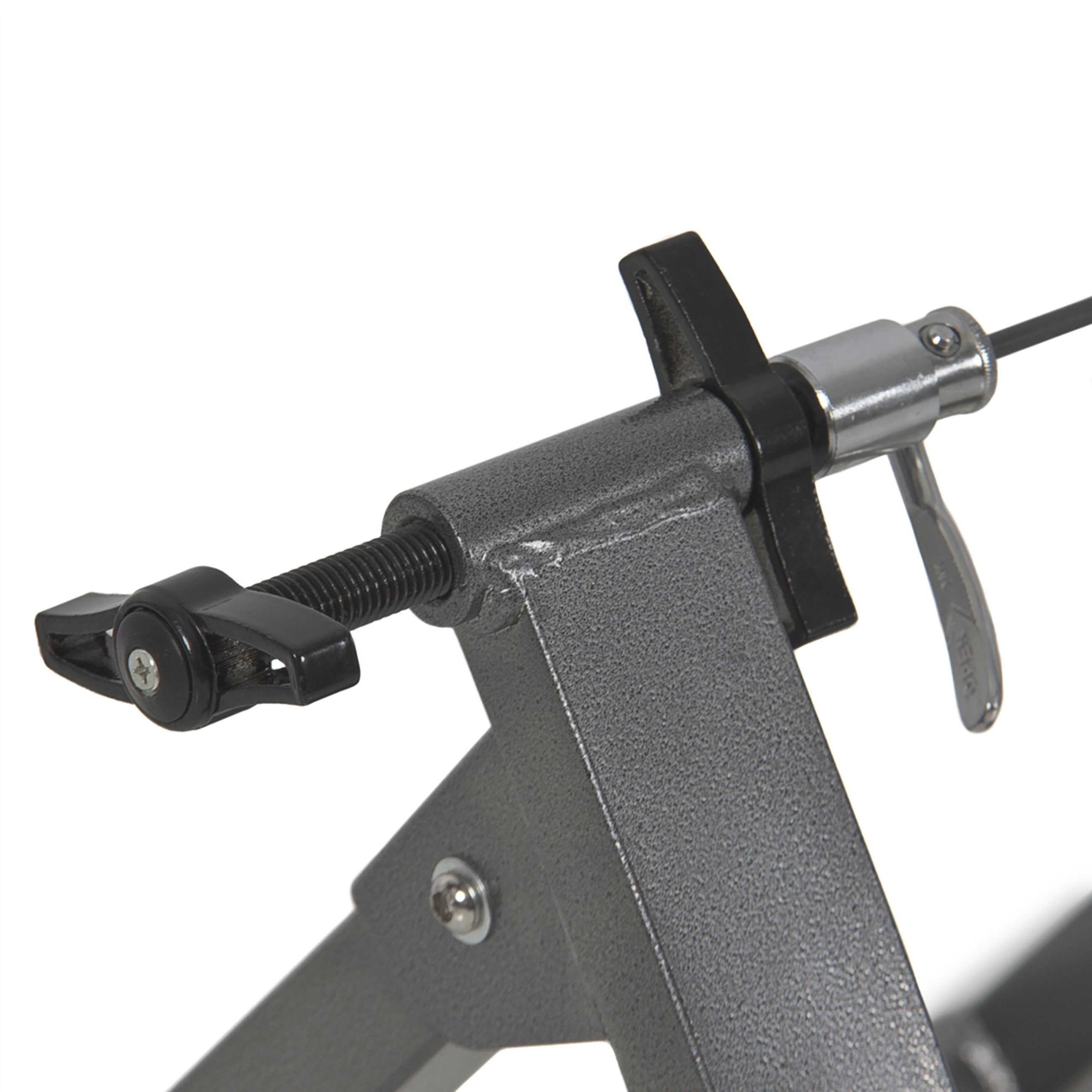 Bike Trainer Stand w/ 5 Resistance Levels - Gray