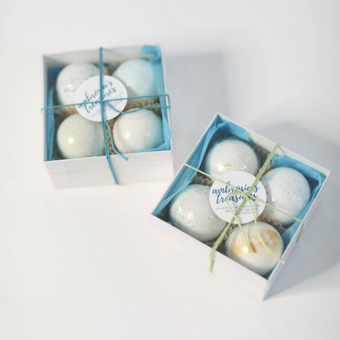 Mini Premium Bath Bombs - Green