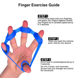 Finger Crossfit Resistance Band