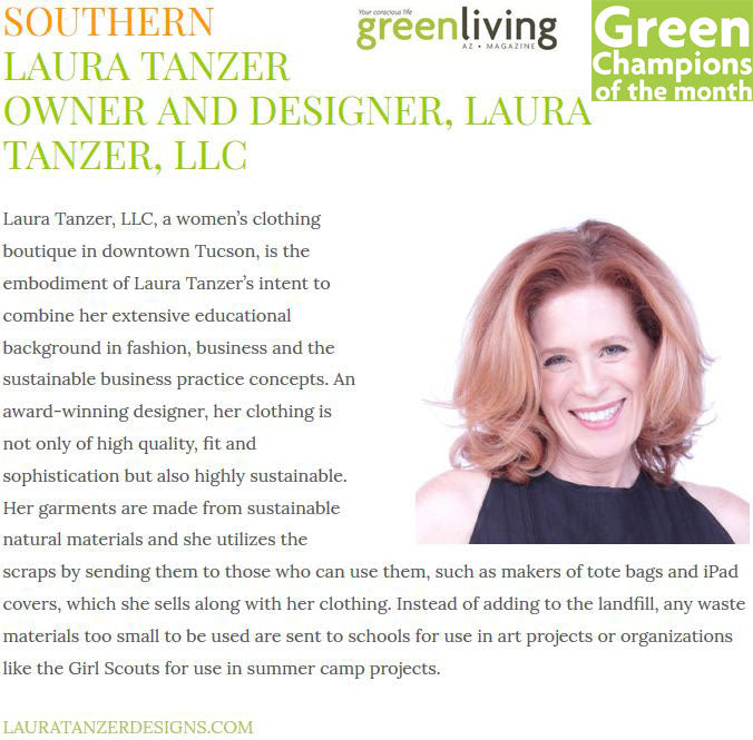 Green Living Champion March 2017