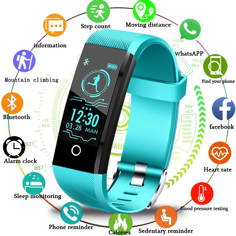 Smart Watch Heart Rate Fitness Tracker - American stock