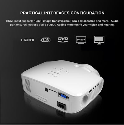 LED Full HD 4K*2K Video Projector - American stock