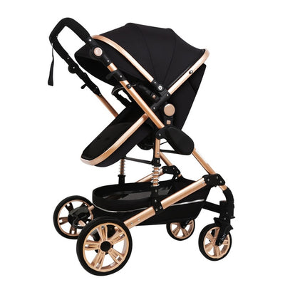 3-IN-1 LUXURY BABY STROLLER - American stock