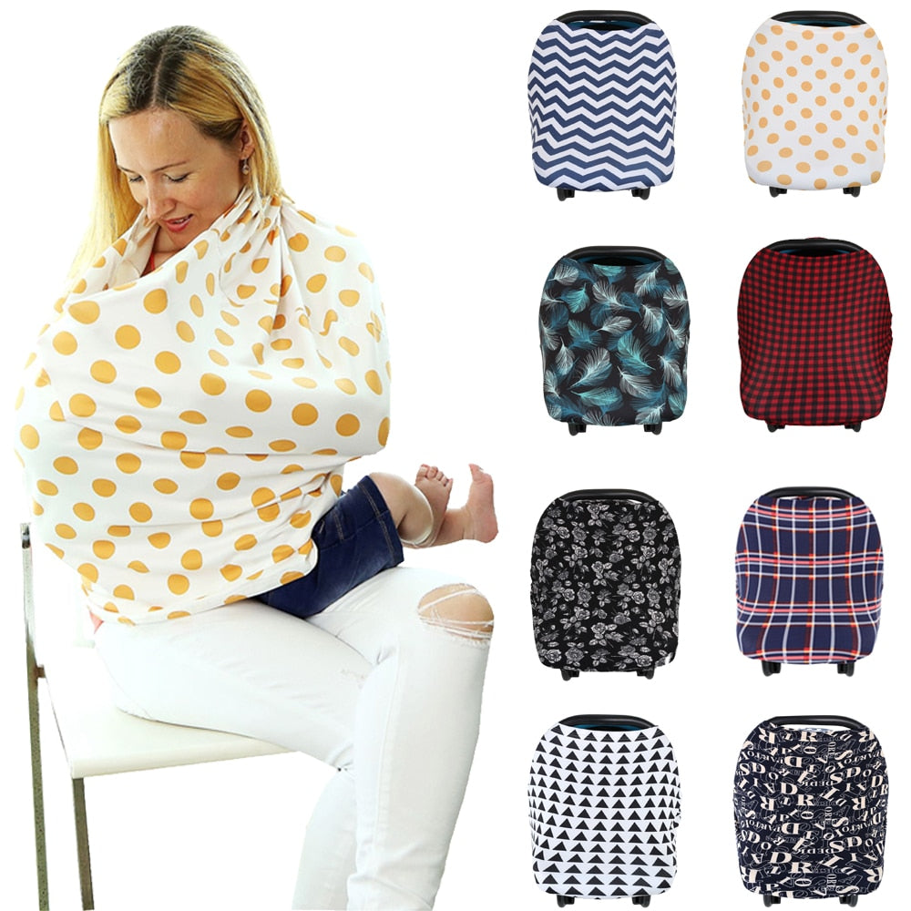 Nursing Breastfeeding Privacy Cover - American stock