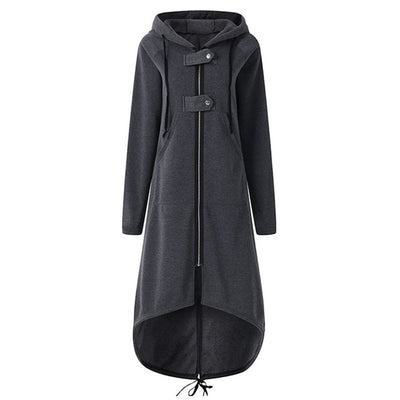 High Fashion Long Section Jacket Coat Outwear - American stock