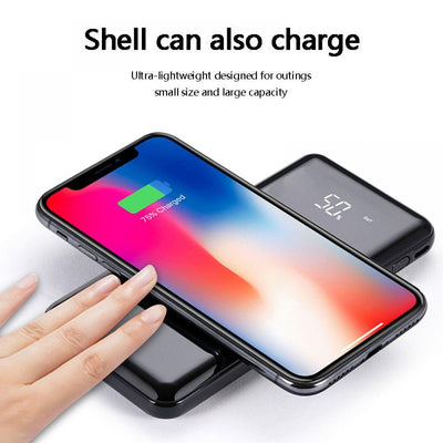 20000mah Wireless Charger Power Bank - American stock