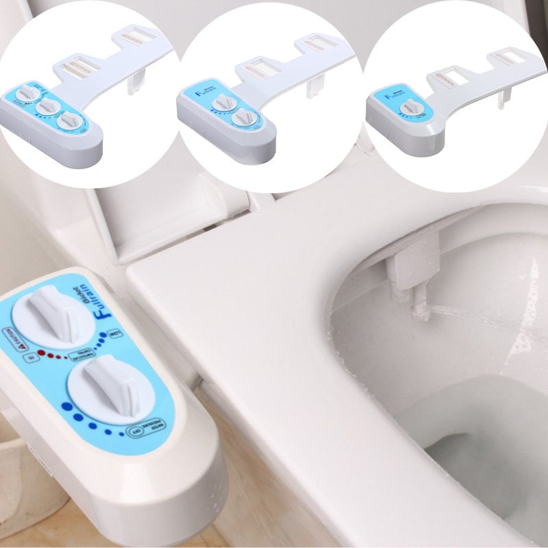 New Non-Electric Mechanical Toilet Seat Bidet - American stock