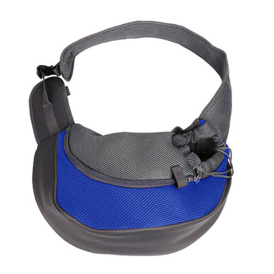 Single Shoulder Sling Mesh Comfort Travel Bag For Pets - American stock