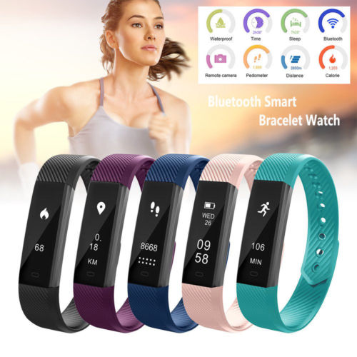Smart Watch Health & Sleep Tracker Remote Camera & Phone Control - American stock
