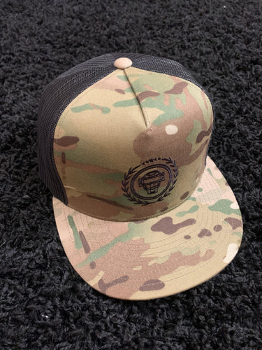 Catching Coalition Logo Hat - Desert Camo/Black - SOLD OUT