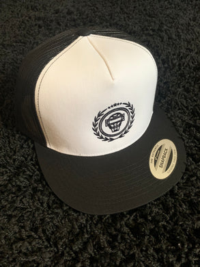 Catching Coalition Logo Hat - White/Black - SOLD OUT
