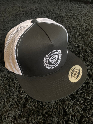 Catching Coalition Logo Hat - Black/White - SOLD OUT