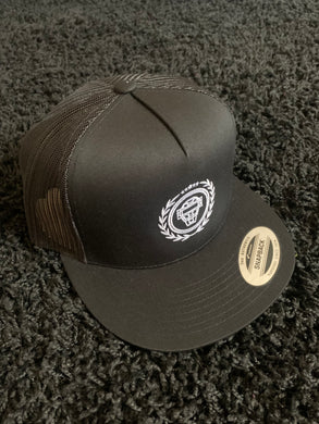 Catching Coalition Logo Hat - Black/Black