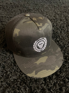 Catching Coalition Logo Hat - Black/Camo