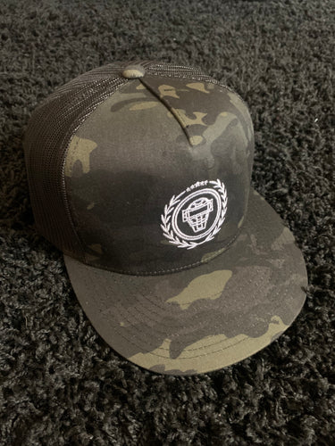 Catching Coalition Logo Hat - Black/Camo - SOLD OUT