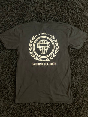 Catching Coalition Logo Tee - Black