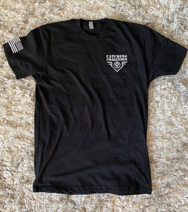 Catching Coalition Military Badge Tee - Black Ops