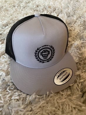 Catching Coalition Logo Hat - Black/Grey