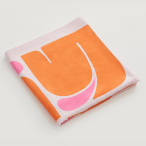 Little Pink Drop Towel