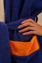 Load image into Gallery viewer, Bathrobe Home Blue