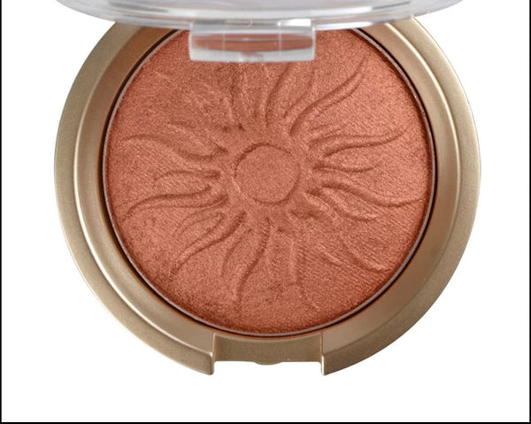 """ CARAMELIO "" GLOWING DAY - Highlighter. Poudre Compacte Minérale - Vizca Cosmetics Paris"