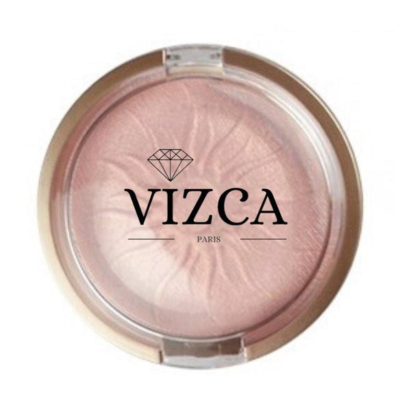 """ VÉNUS "" GLOWING DAY - Highlighter. Poudre Compacte Minérale - Vizca Cosmetics Paris"
