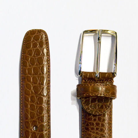 Tan Alligator belt