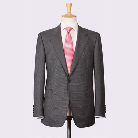Mid Grey s/150's Pinhead Coat and Trousers