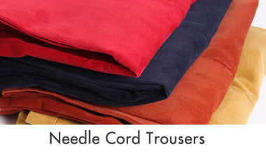 Needle Cord Trousers