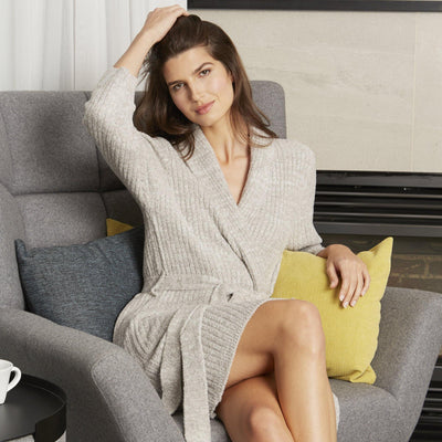 R1001 - Heavenly Collection Sweater Robe - My Leisure Lounge
