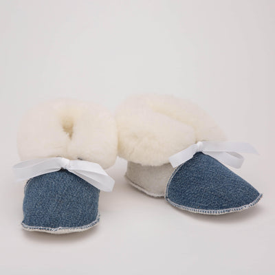 Baby Sheepskin Booties - My Leisure Lounge