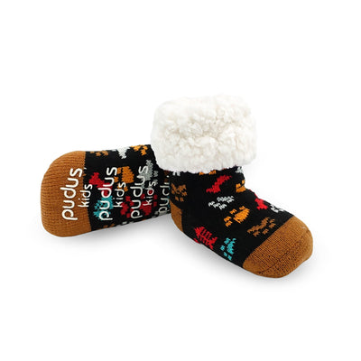 Toddler Slipper Socks with Dog Paw Print - My Leisure Lounge