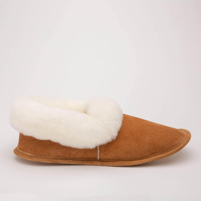 Ladies Sheepskin Full Slippers - My Leisure Lounge